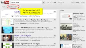 LSS's YouTube Search Result in Eng Sep 2012