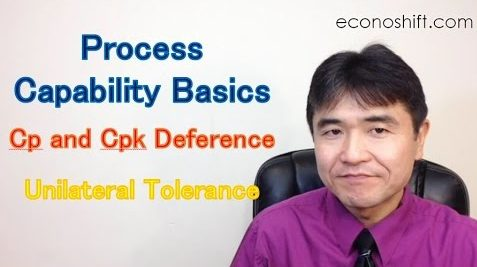 Process Capability Basics, Cp and Cpk Deference and Unilateral Tolerance