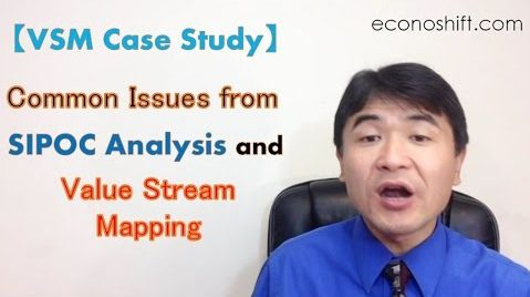 VSM Case Study, Value Stream Mapping, Common Issues from SIPOC Analysis and VSM