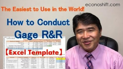 MSA Gage R&R: the Easiest GRR Template to Use in the World! 【Excel Template】