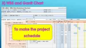 WBS and Gantt Chart