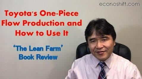 Toyota One Piece Flow Production and Applying to Service Operations【'The Lean Farm' Book Review】