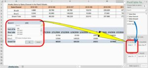 Pivot Table's Field List's Filters Area