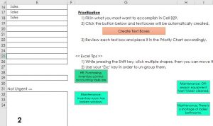 Create Text Boxes Button