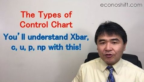 Control Chart Types: You'll understand Xbar, c, u, p, np with this!