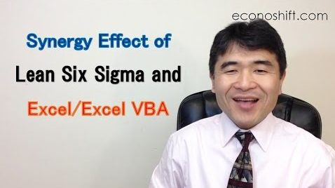 Synergy Effect of Lean Six Sigma and Excel/Excel VBA