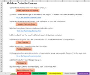 Art Production OS Program Instructions