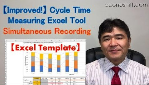 Improved Cycle Time Measuring Excel Tool Measure Multiple