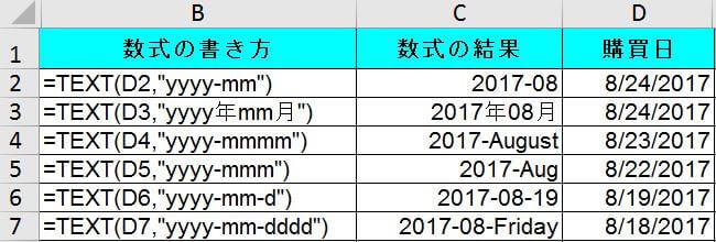 TEXT関数:日付や数値の表示を読み易くする関数【データ分析 ...