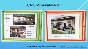 5S, Standardize Posters
