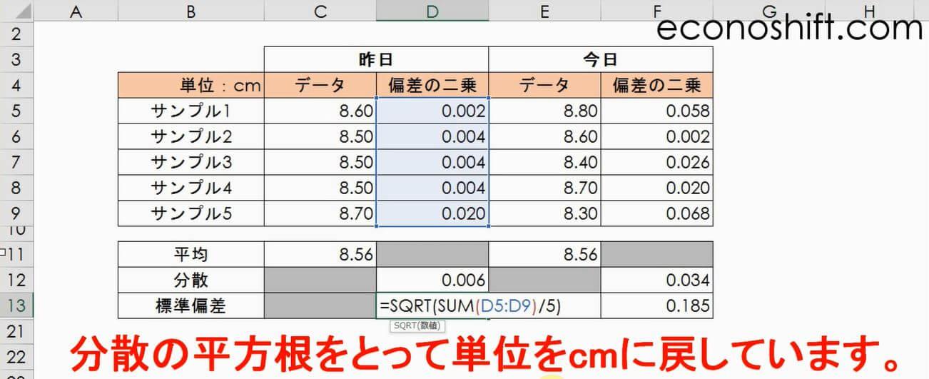 標準偏差 σ(シグマ)とは?標準偏差のエクセル関数があり過ぎ ...