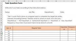 Task Question Form