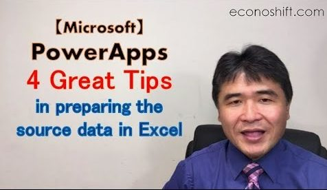 PowerApps: 4 great tips in preparing the source data in Excel