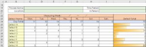 Check Sheet for Recording Template