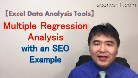 Learning Multiple Regression Analysis with an SEO Example【Regression Analysis Series 3】