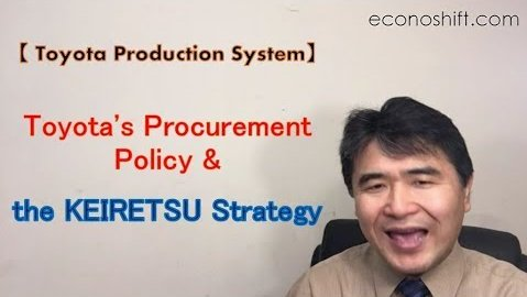 Toyota Procurement Policy and the KEIRETSU Strategy