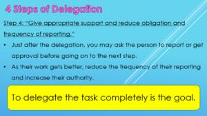 The 4 Steps of Delegation 3