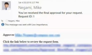 Final Approved Email
