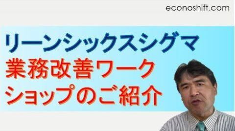 econoshift リーンシックスシグマ業務改善ワークショップのご紹介